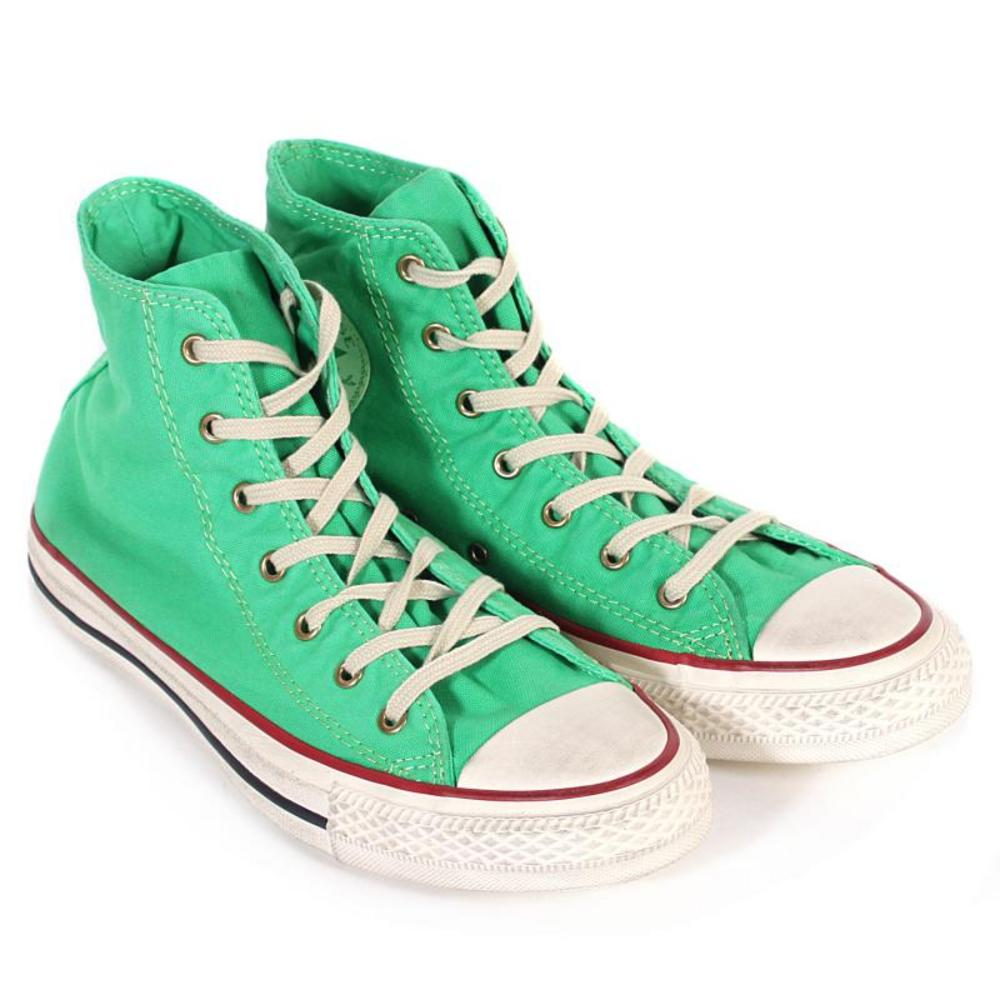 Mint Green Converse hi Tops images