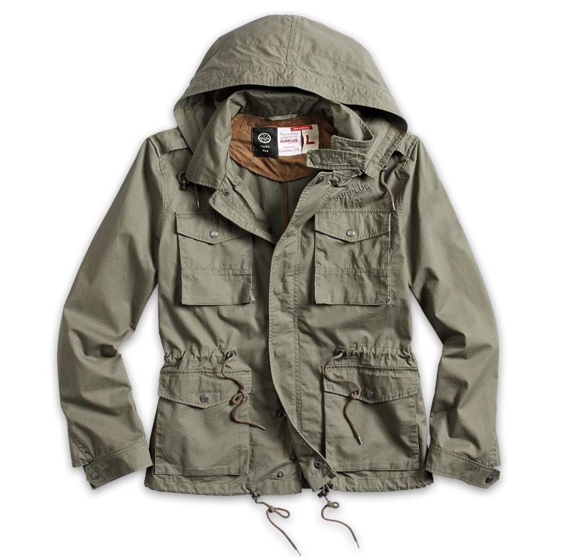 Lightweight Army Jacket   Fit Jacket