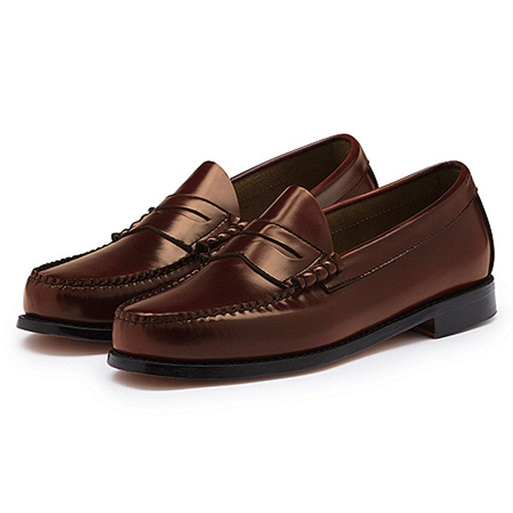 bass weejuns classic ivy league mod 60s leather penny