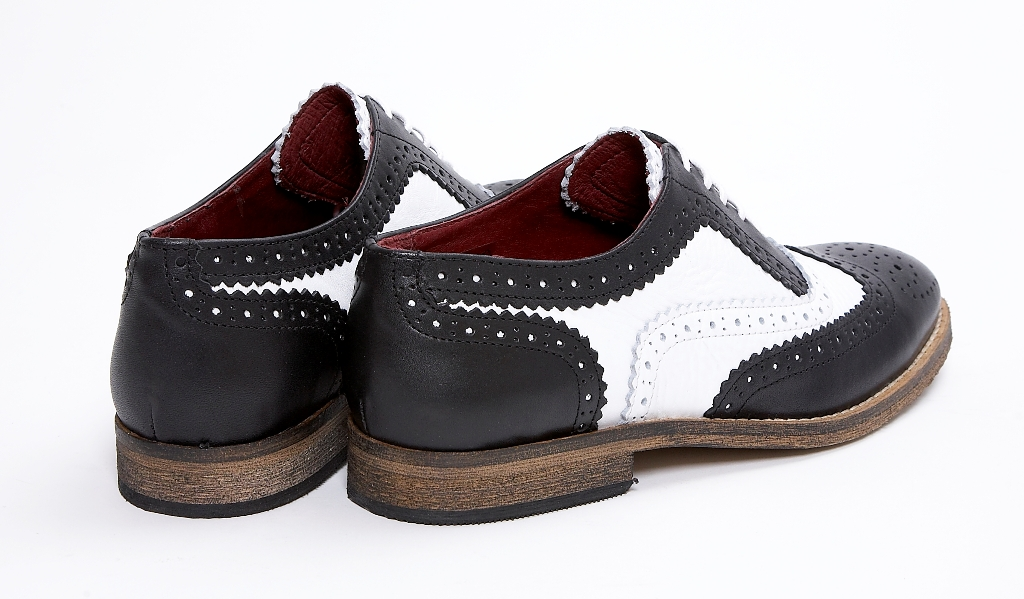 Find black and white brogues women at ShopStyle. Shop the latest collection of black and white brogues women from the most popular stores - all in one.