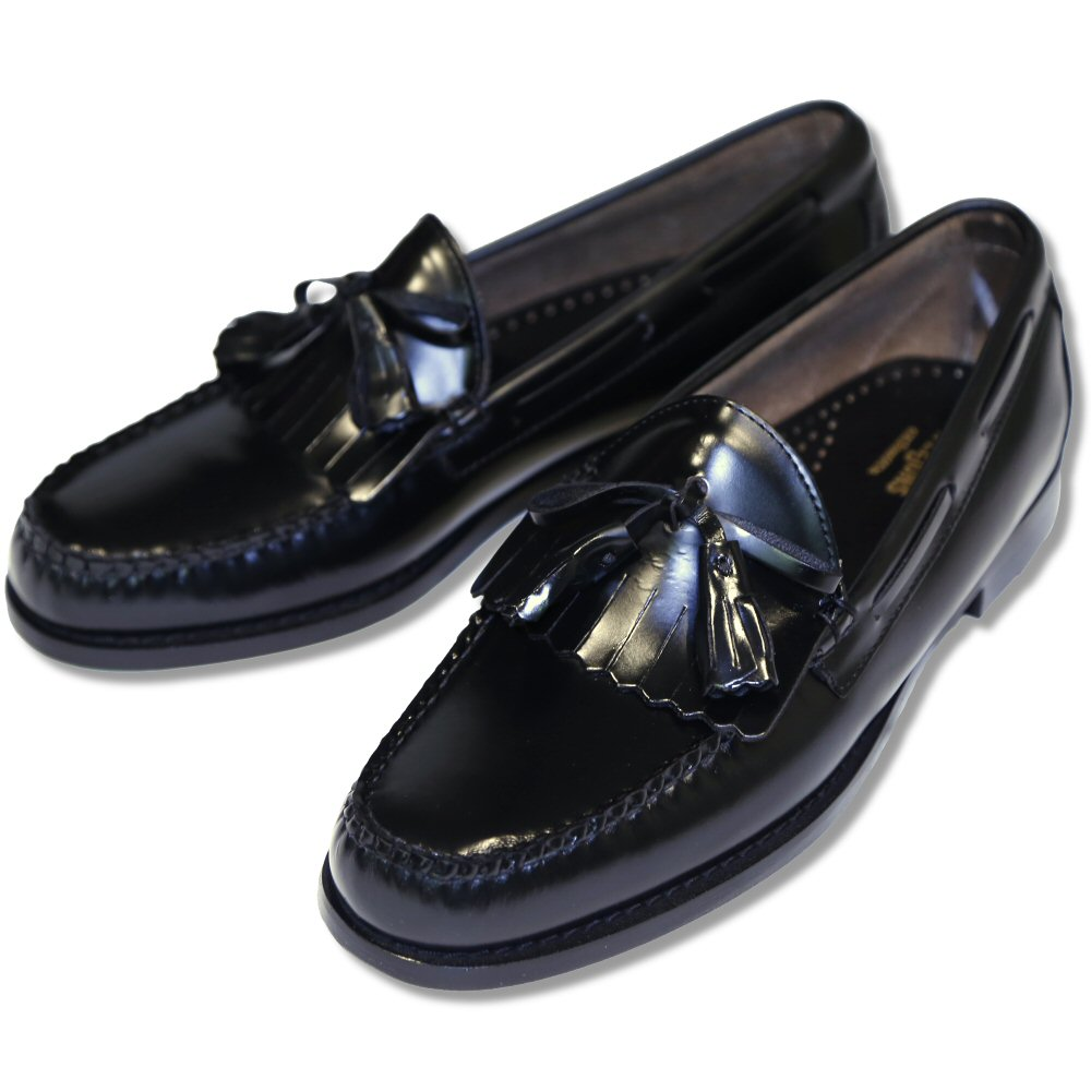 Bass Black Leather Shoes