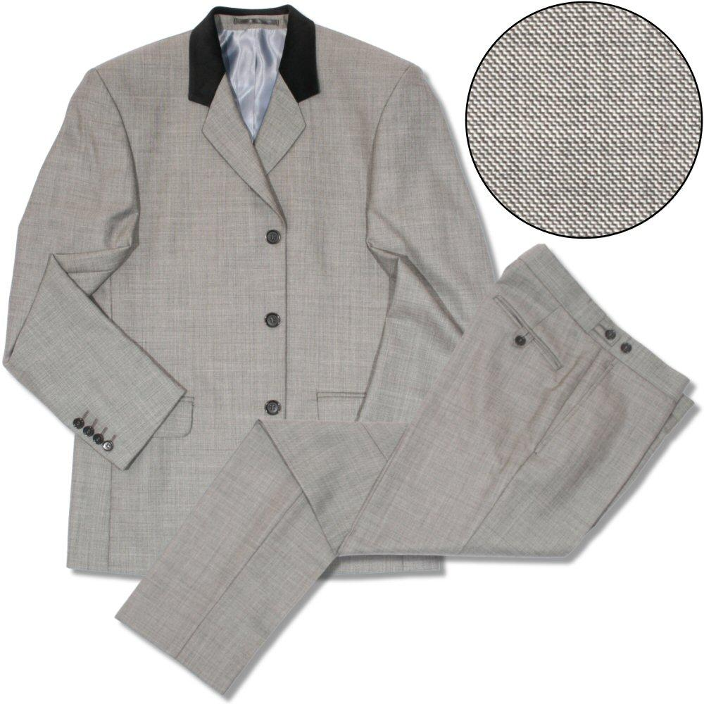 Beatwear Sharkskin Suit Grey