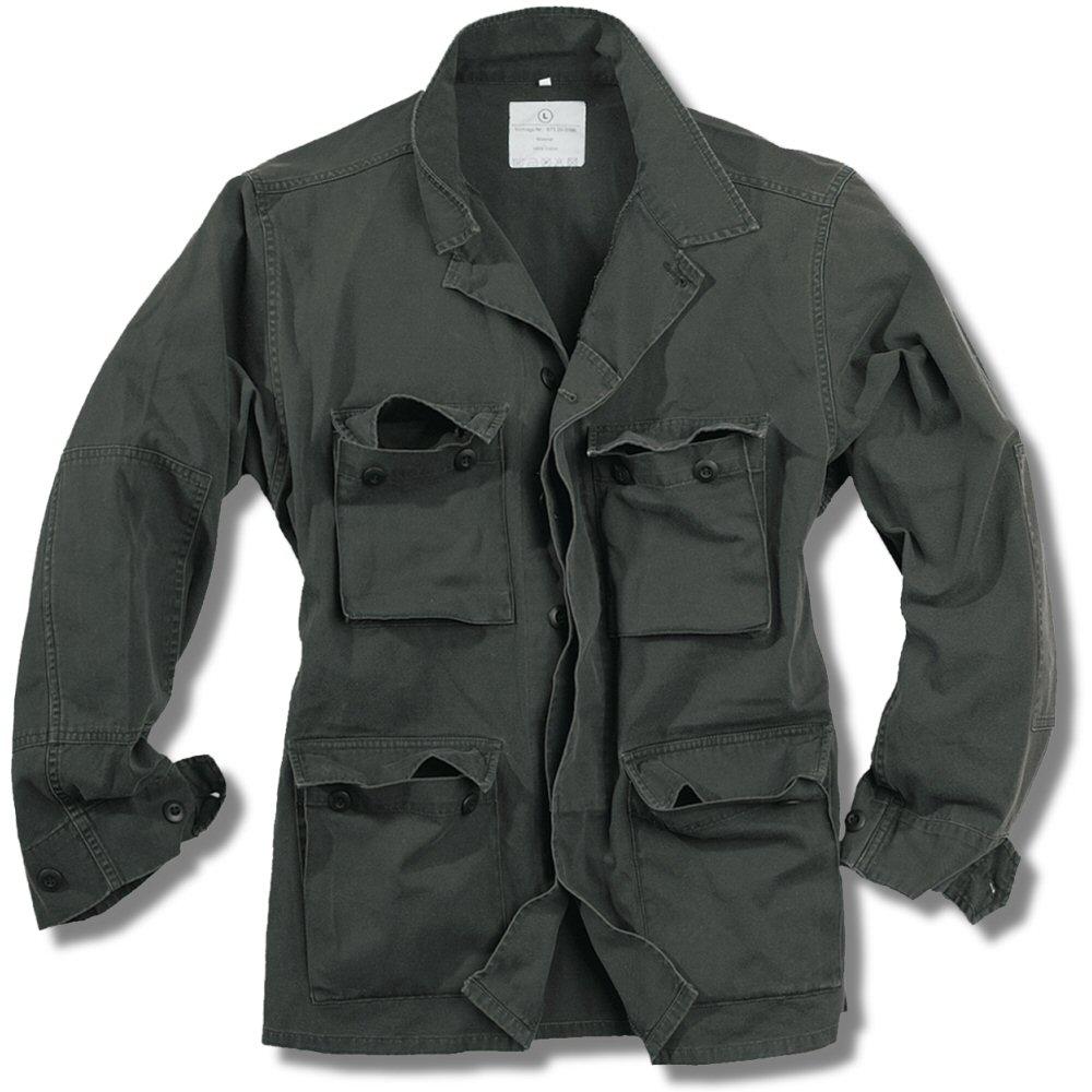 New Surplus Raw Vintage Washed Cotton BDU Military Jacket ...