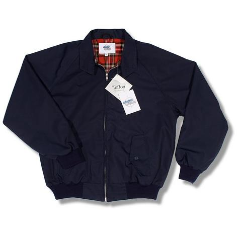 Adaptor Clothing Mod 60's Retro Teflon Coated Raglan Sleeve Harrington Jacket Thumbnail 5