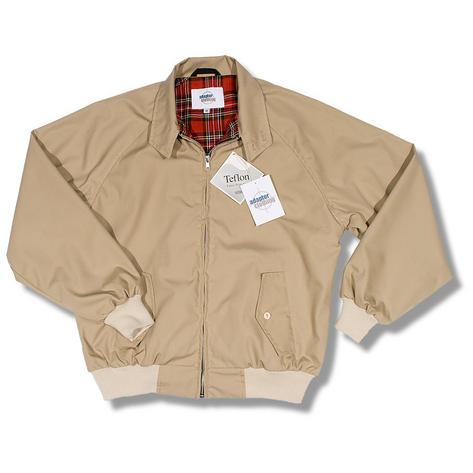 Adaptor Clothing Mod 60's Retro Teflon Coated Raglan Sleeve Harrington Jacket Thumbnail 4