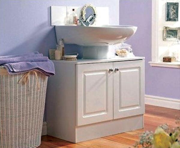 Under Wash Basin Unit Washbasin Bathroom Sink Storage