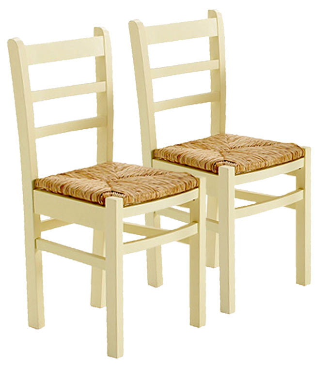 Rush Kitchen Dining TABLE AND 2 DINING CHAIRS Wood Wooden