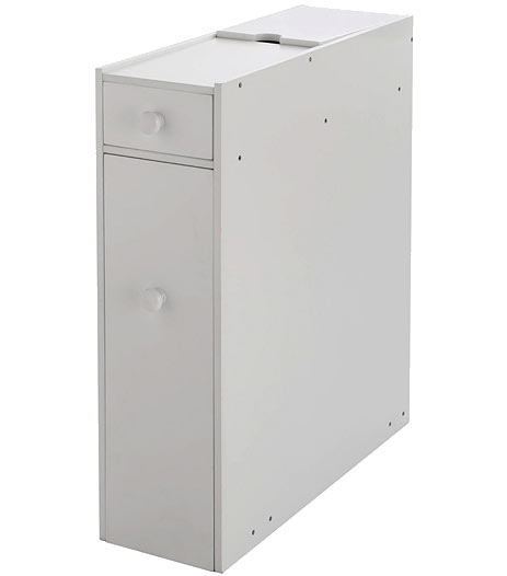 Compact bathroom cabinet