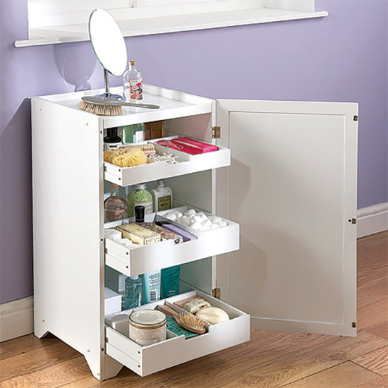 White wooden bathroom bedroom storage cabinet cupboard for White wooden bathroom drawers