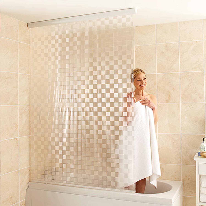 Tenda a rullo per tende da doccia bagno impermeabile in - Tende a rullo per bagno ...