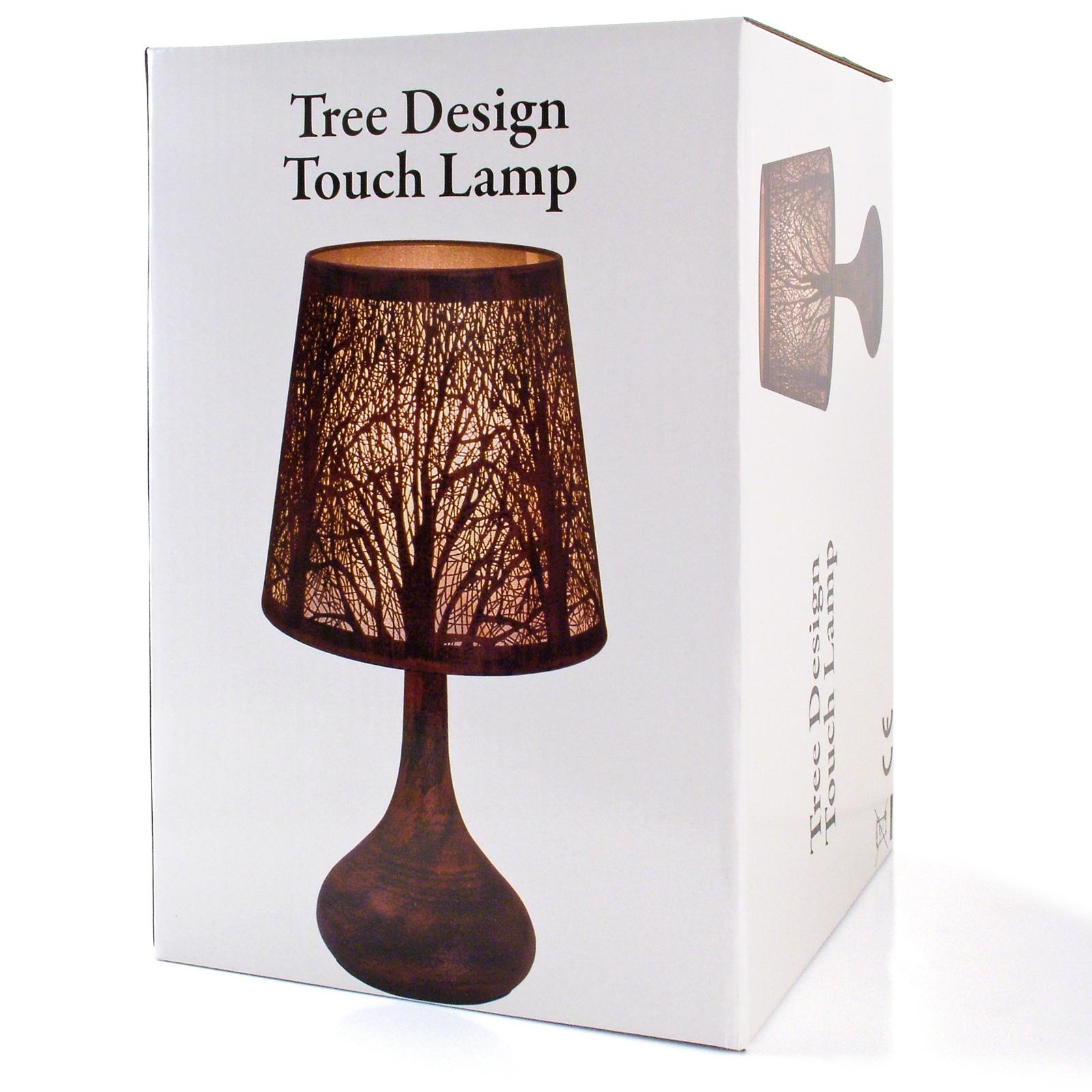 ... Chrome Touch Lamp Dimmer Bedside Table Light New York City Skyline
