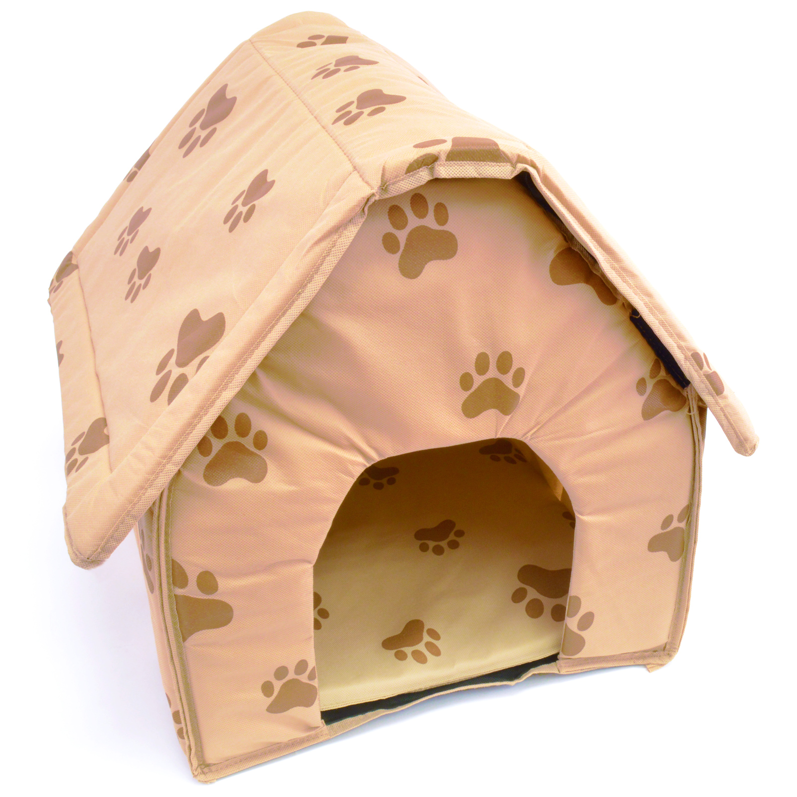 Indoor dog houses - Portable Travel Dog House Folding Pet Kennel Soft Cat Puppy Indoor Outdoor Bed