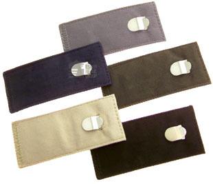 Pack of 5 TROUSER WAIST EXTENDERS Cotton Clip Hook Waistline Pants Extensions