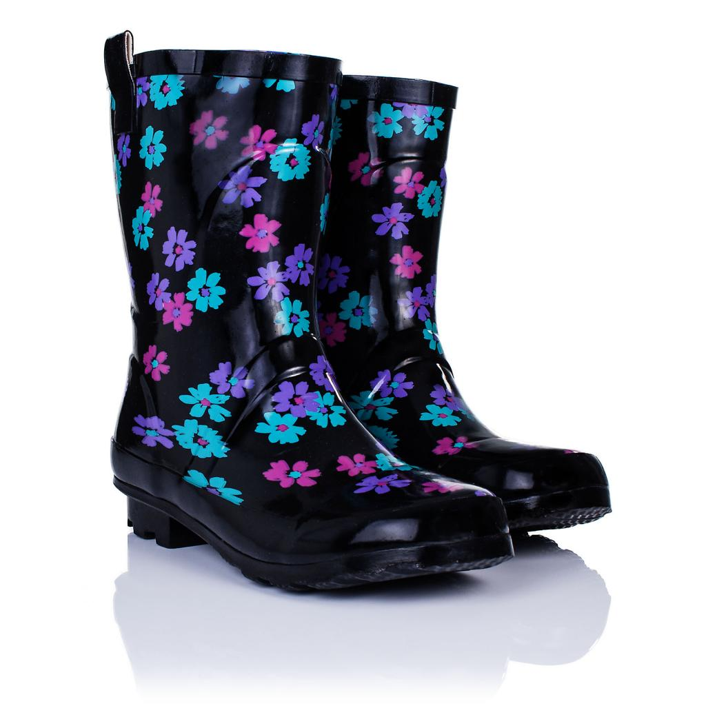 womens festival welly wellington ankle boots