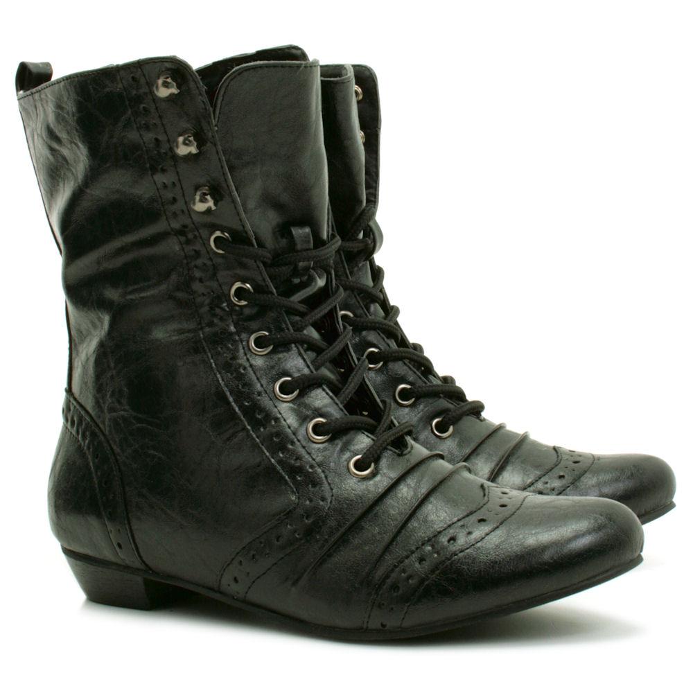 Unique Vintage Chanel Boots For Women Ladies Black Leather Chanel Boots Size