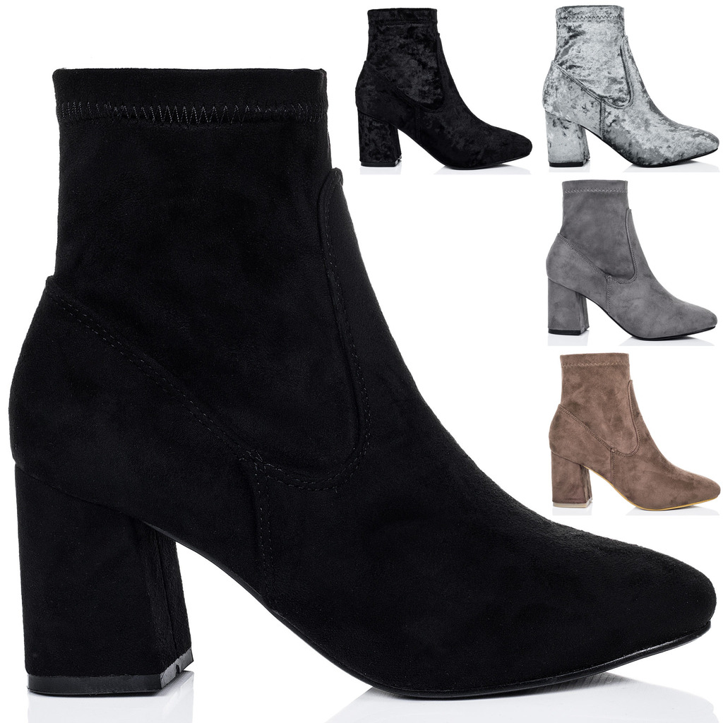 shoes block heel sock ankle best 28 images chiko