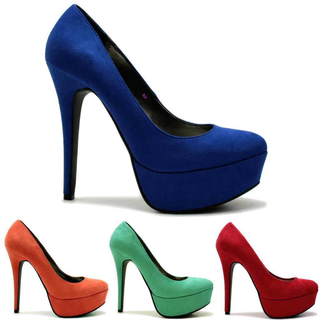 Schuhe Absatz Wechseln : neu damen pumps high heel schuhe stiletto absatz plateau gr 36 41 ebay ~ Buech-reservation.com Haus und Dekorationen