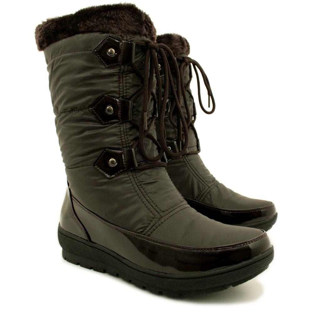 Ladies Snow Boots Size 9   Homewood Mountain Ski Resort