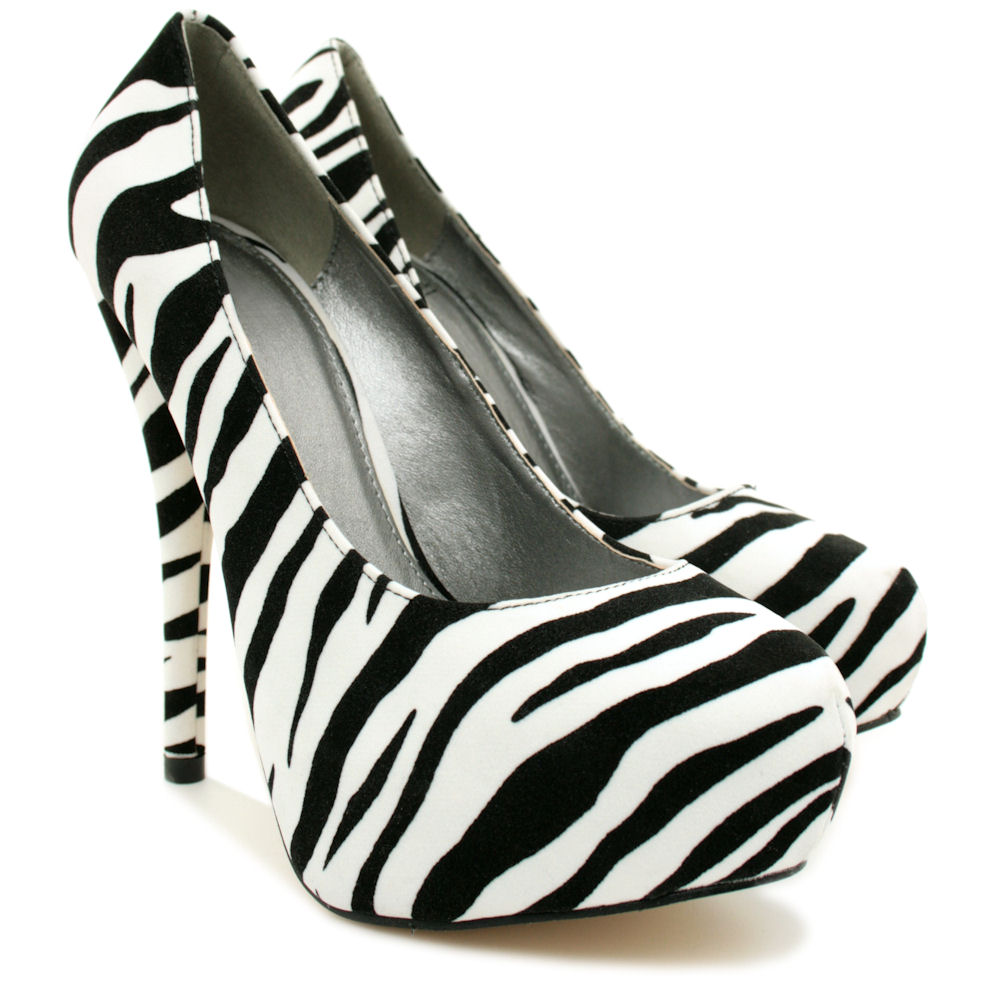 NEW-WOMENS-HIGH-HEEL-PLATFORM-SUEDE-STYLE-PATENT-PARTY-COURT-LADIES-SHOES-SIZE thumbnail 13