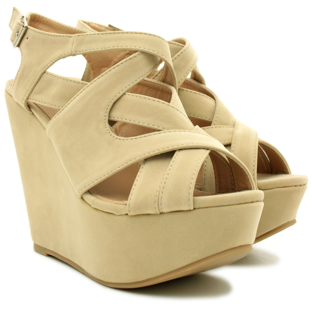 NEW-WOMENS-SUEDE-STYLE-WEDGE-HIGH-HEEL-PLATFORM-STRAPPY-SHOES-SANDALS-SIZE