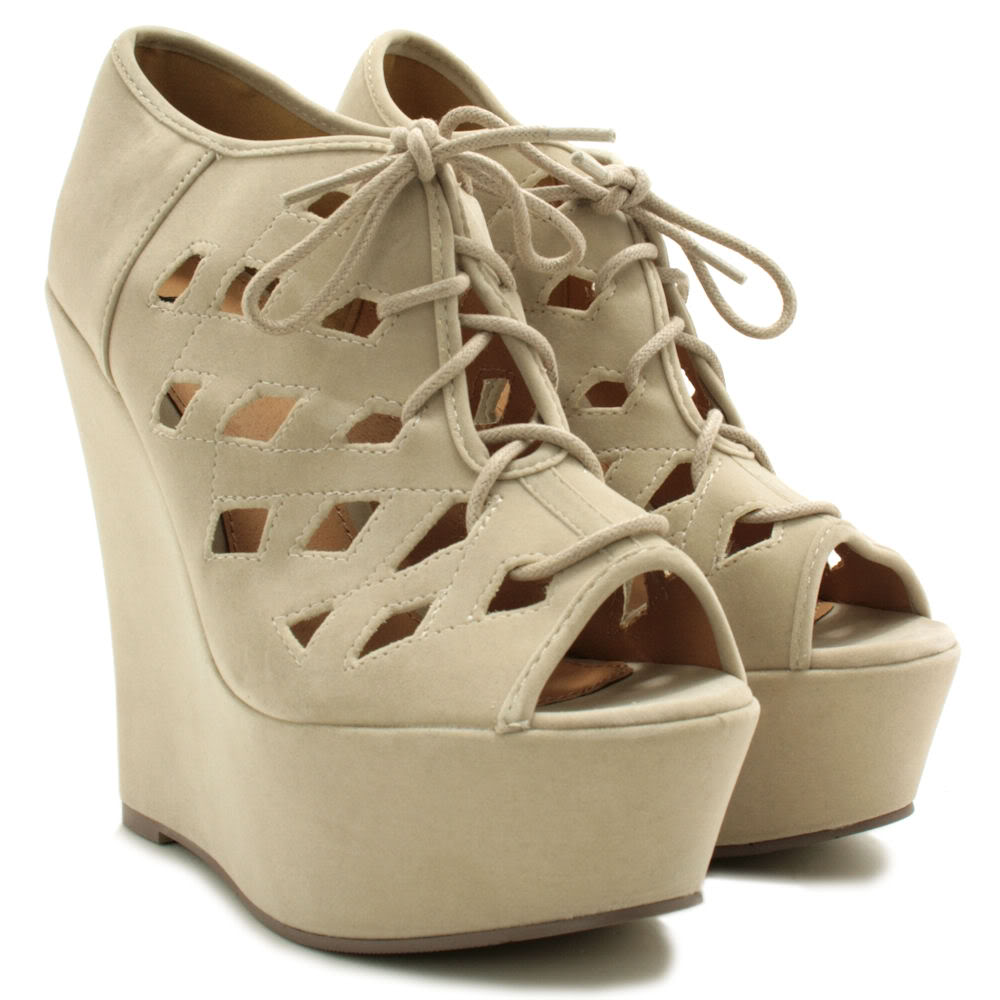 NEW-WOMENS-SUEDE-STYLE-WEDGE-HEEL-PLATFORM-LACE-UP-SHOES-SIZE