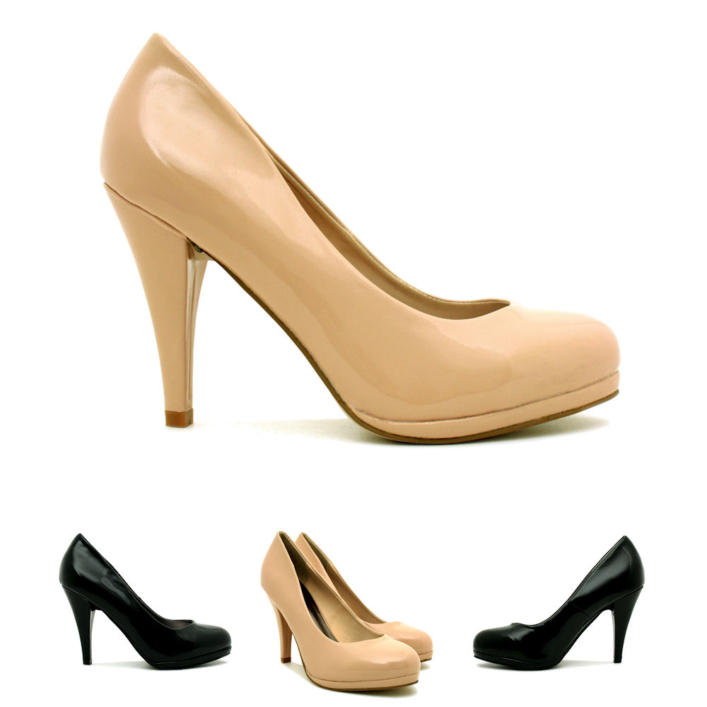 neu damen pumps high heel schuhe stiletto absatz plateau gr 36 41 ebay. Black Bedroom Furniture Sets. Home Design Ideas