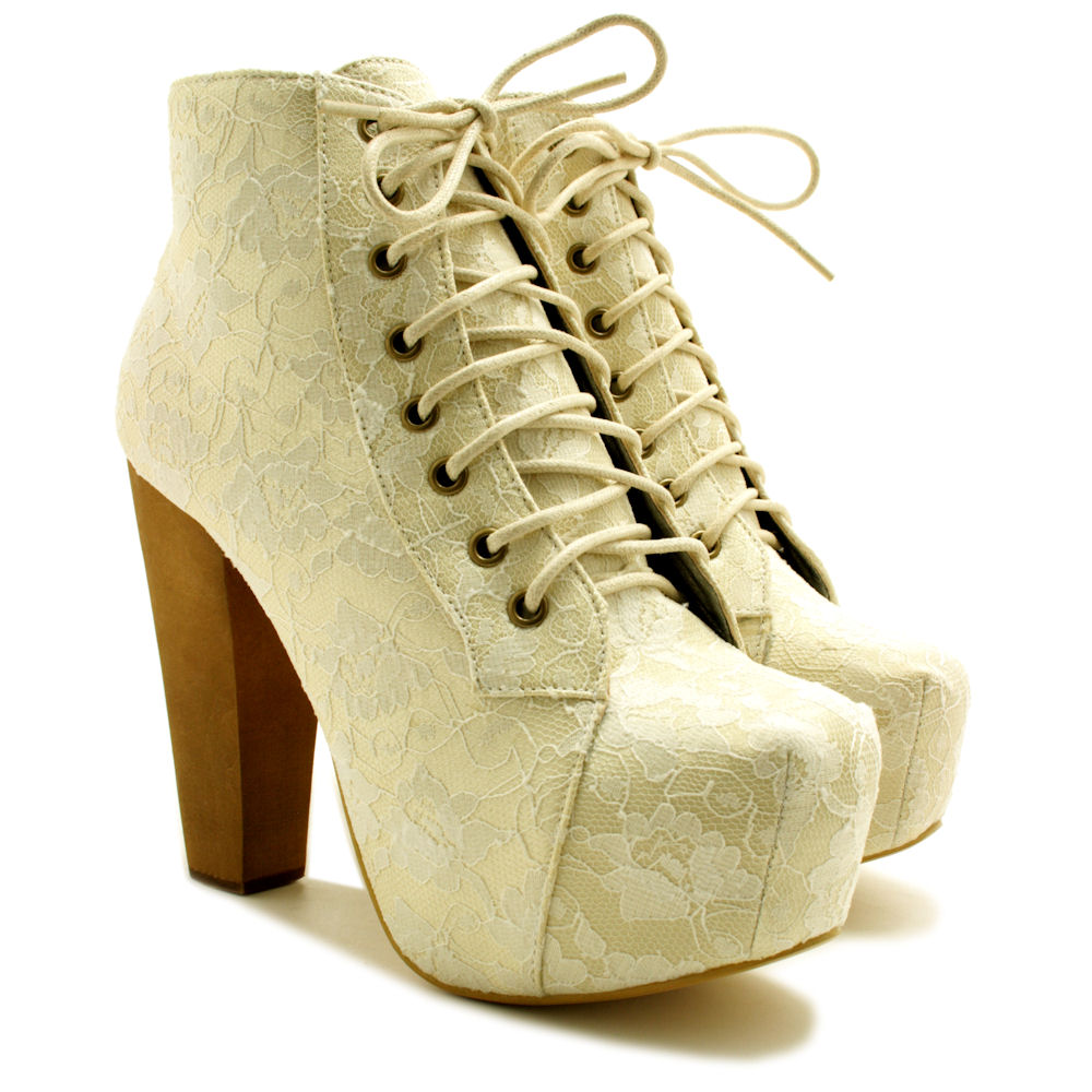 neu damen stiefeletten ankle boots schuhe blockabsatz. Black Bedroom Furniture Sets. Home Design Ideas