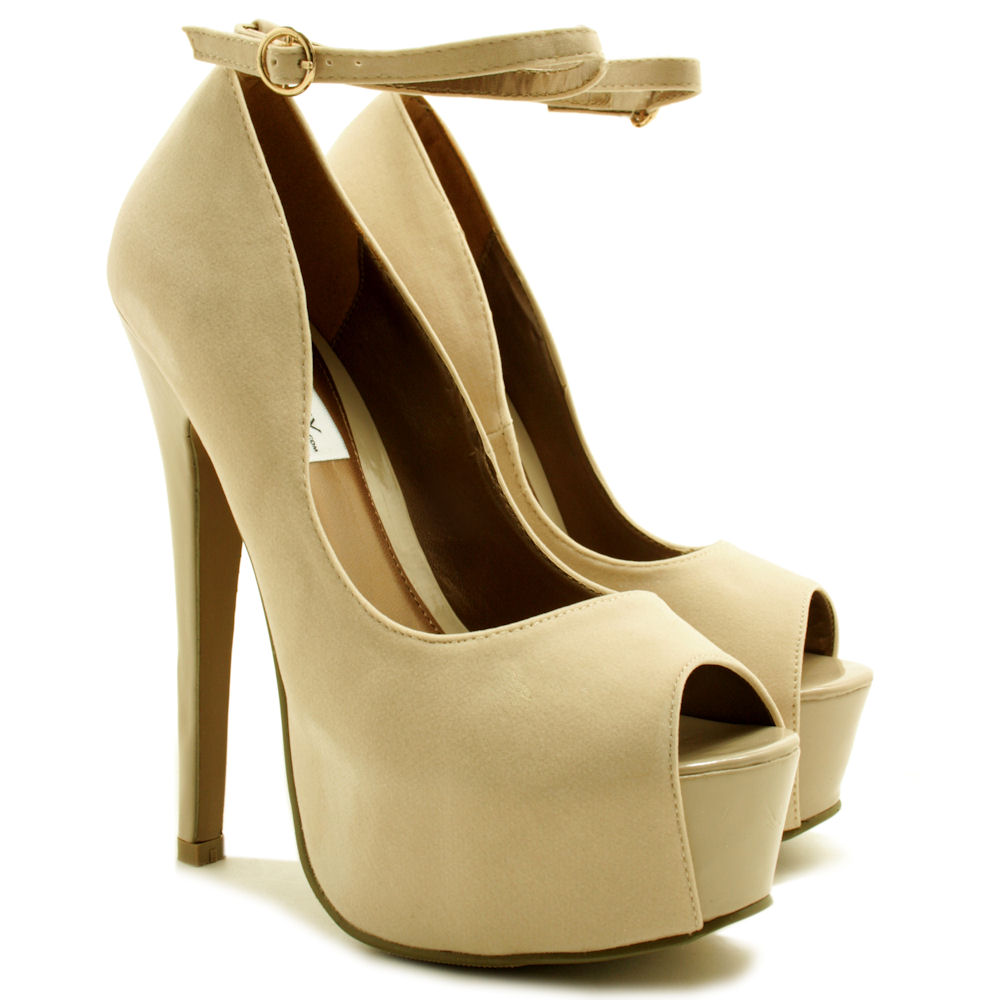 NEW-WOMENS-STILETTO-HEEL-PEEP-TOE-ANKLE-STRAP-CONCEALED-PLATFORM-SHOES-SIZE