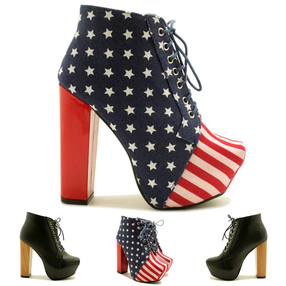 neu damen stiefeletten ankle boots schuhe keilabsatz. Black Bedroom Furniture Sets. Home Design Ideas