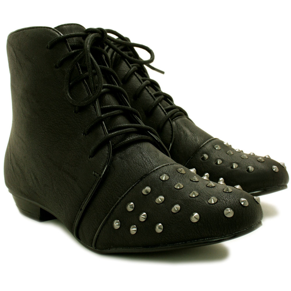 Brilliant 28 Awesome Womens Suede Lace Up Ankle Boots Flat | Sobatapk.com