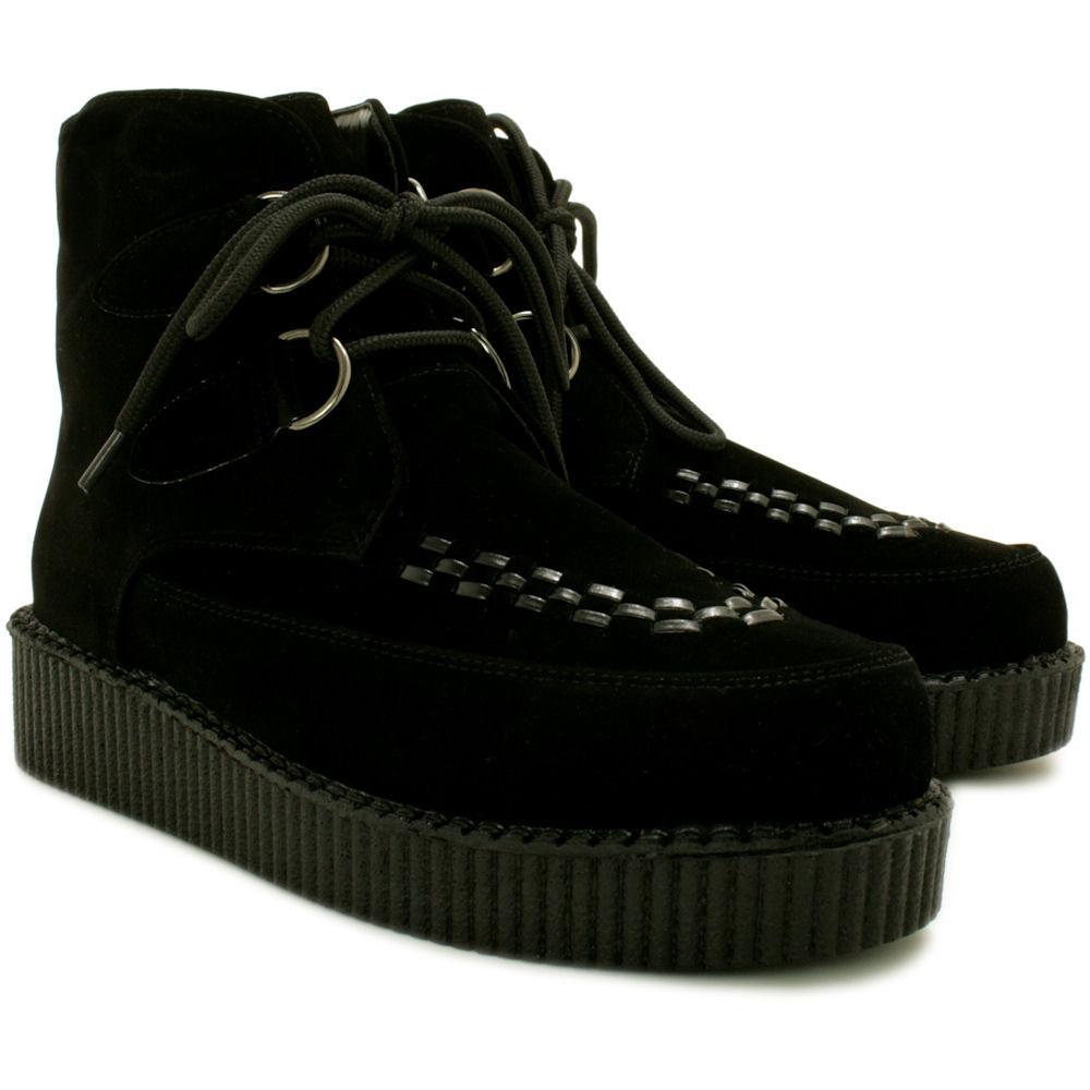 neu damen stiefeletten ankle boots schuhe flach plateau schn r gr 36 41 ebay. Black Bedroom Furniture Sets. Home Design Ideas