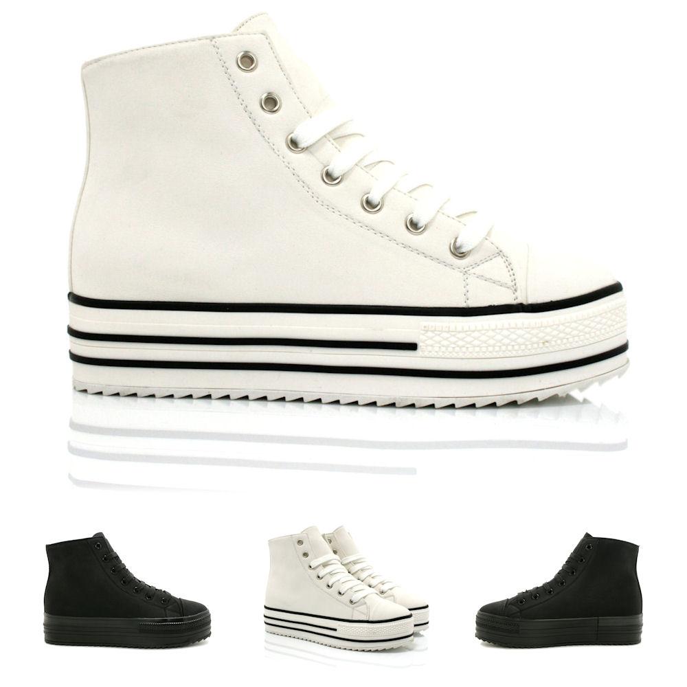 neu damen stiefeletten ankle boots schuhe flach schn r plateau gr 36 41 ebay. Black Bedroom Furniture Sets. Home Design Ideas