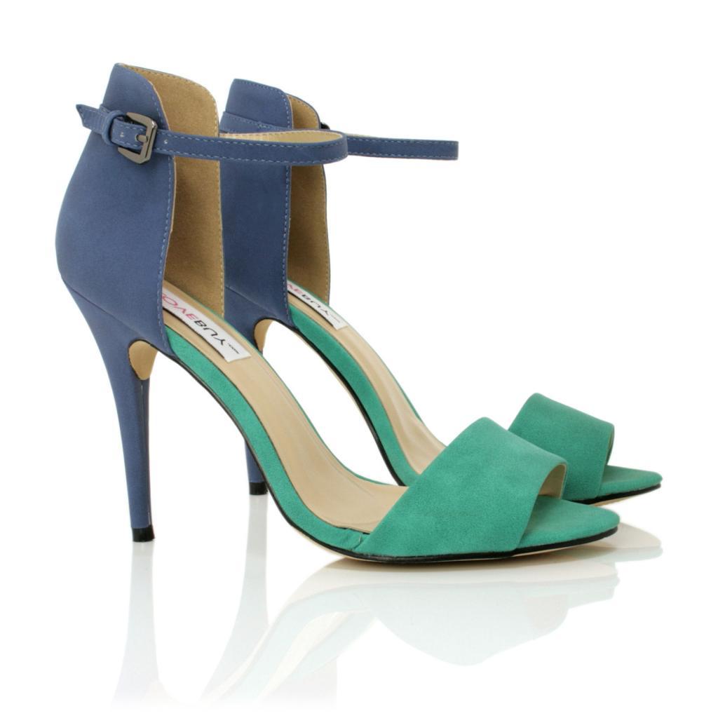 neu damen sandalen schuhe stiletto absatz offene spitze gr 36 41 ebay. Black Bedroom Furniture Sets. Home Design Ideas