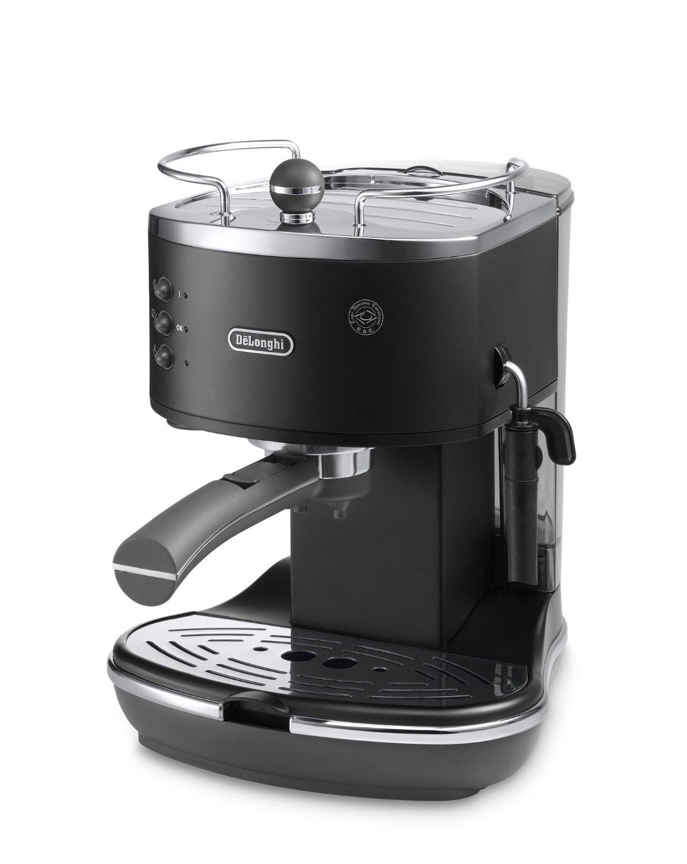 delonghi ecov310bk1 vintage icona pump espresso cappuccino coffee machine 1 4l ebay. Black Bedroom Furniture Sets. Home Design Ideas