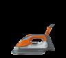 View Item Hotpoint SIDC30BAO Quick Perfection Steam Iron Orange 2.7kW 40 g/min 350ml