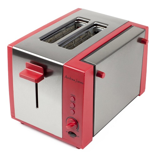Andrew James Two Slice Toaster With Fold Down Cooking