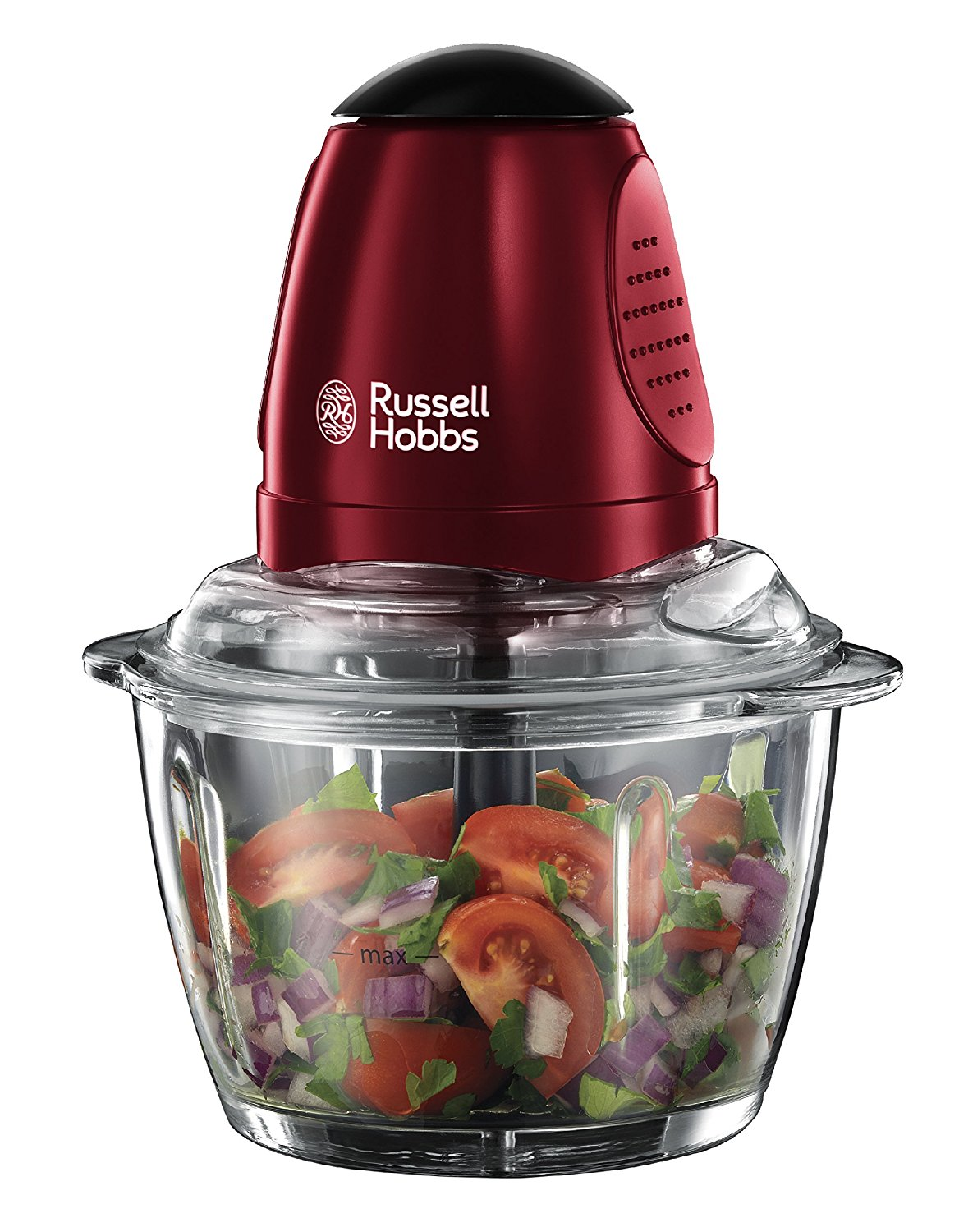 russell hobbs 20320 rosso mini chopper food processor 200w red ebay. Black Bedroom Furniture Sets. Home Design Ideas