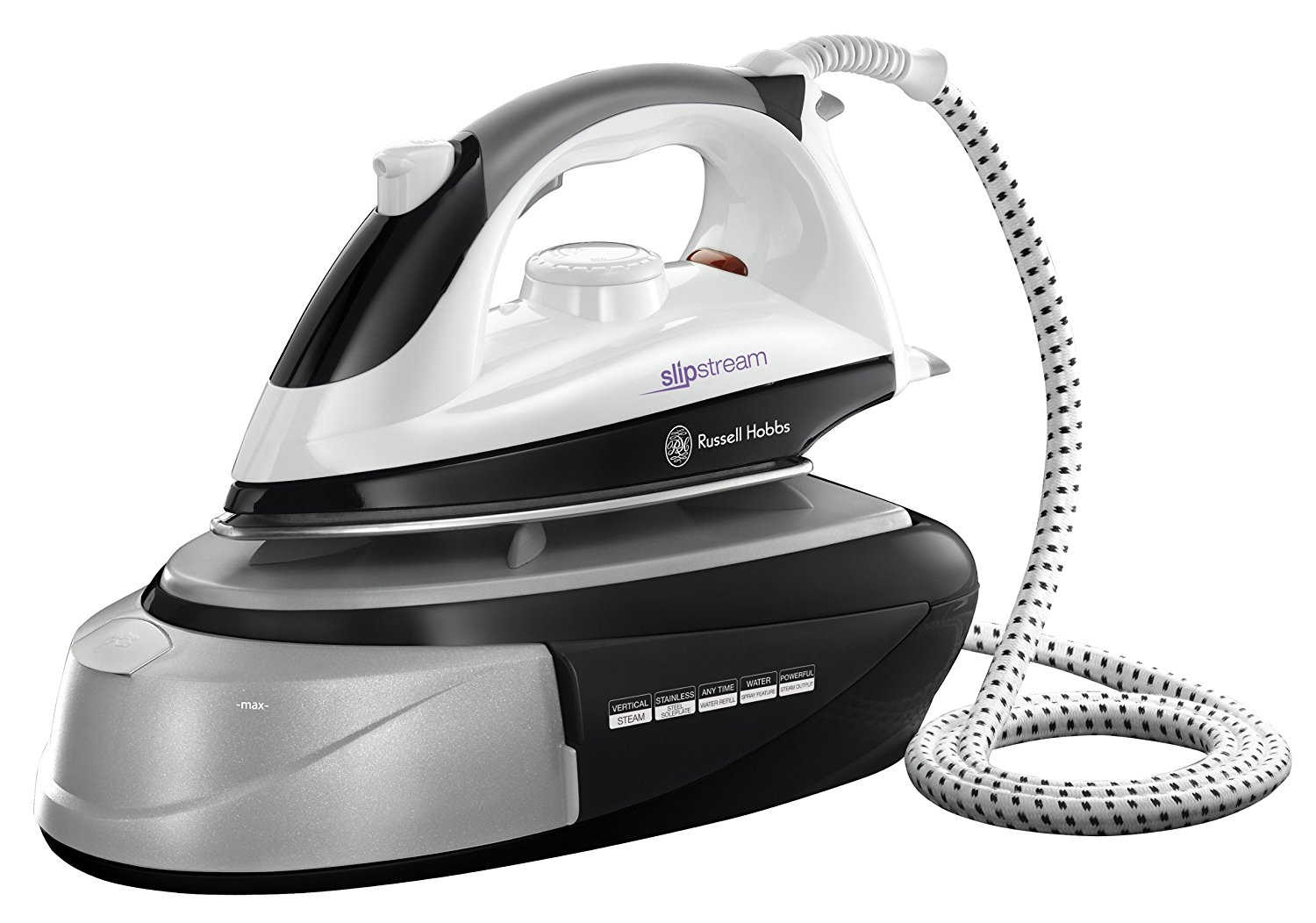 1800 Electric Iron ~ Russell hobbs slipstream steam generator iron w