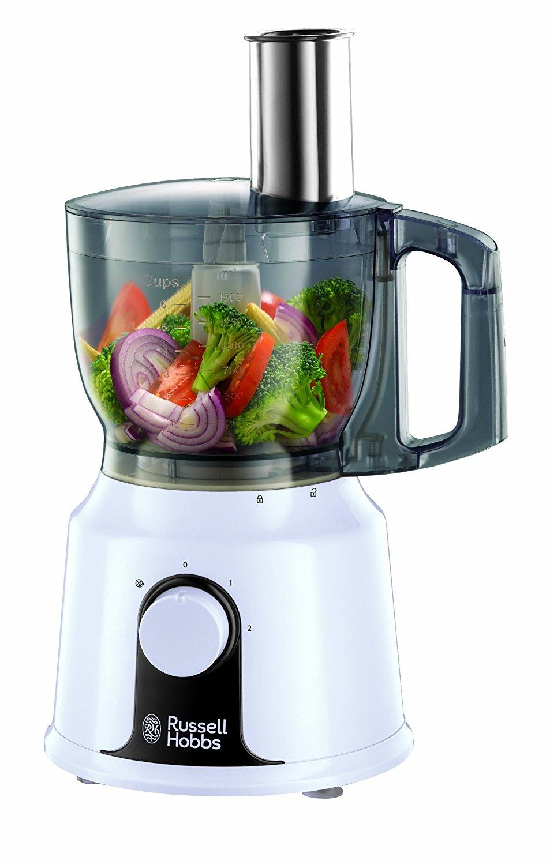 russell hobbs 19001 food processor 500w 2 speed 1 5l jug 1 5l bowl ebay. Black Bedroom Furniture Sets. Home Design Ideas