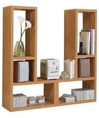 brand new pair of oak l shaped shelves storage unit ebay. Black Bedroom Furniture Sets. Home Design Ideas