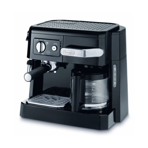 *WOW* DeLonghi BCO410 15 bar Pump Combi Espresso Coffee Machine Black Enlarged Preview