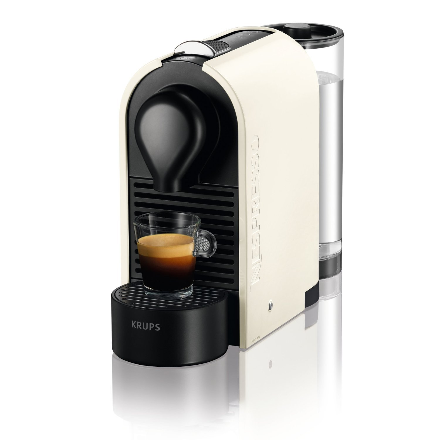 krups xn2501p4 nespresso u pure cream espresso coffee machine xn2501 ebay. Black Bedroom Furniture Sets. Home Design Ideas