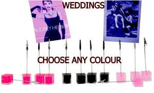 4-WEDDING-MEMO-CLIP-FAVOUR-HOLDER-RED-PINK-BLACK-CARD-TABLE-DECORATION-8925