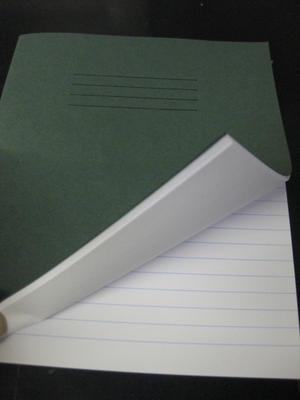 EXERCISE-BOOKS-20cm-X-16cm-1-RULED-PAGE-1-BLANK-PAGE-GREEN-80-PGS-1-2-10-50-100