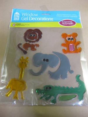 WINDOW-GEL-DECORATIONS-GLASS-STICKER-JELLY-UK-FLOWERS-DOGS-TRANSPORT-ANIMALS