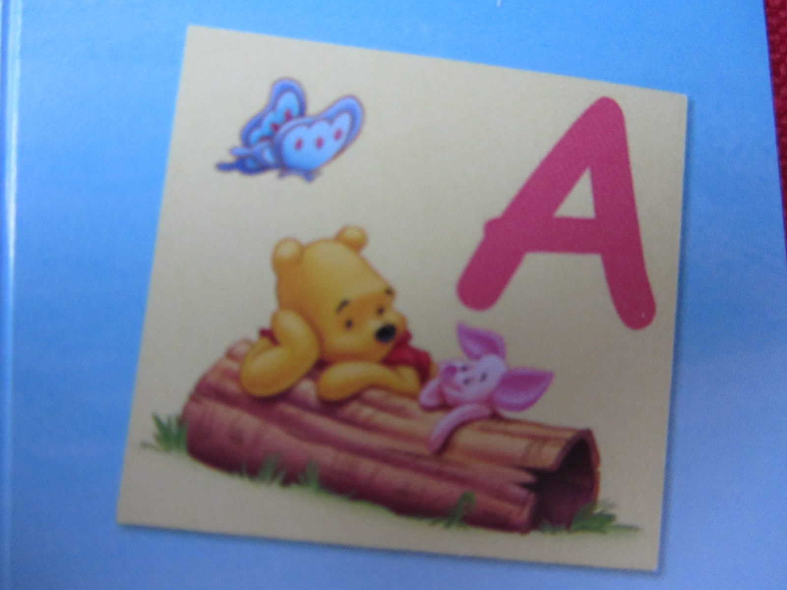 Modern 28 winnie the pooh nursery alphabet giant stickers for Large wall letters for nursery