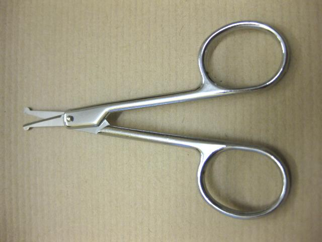 beard moustache scissor trimmer hair cut toe nails fingers cutting safty balltip ebay. Black Bedroom Furniture Sets. Home Design Ideas