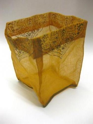48 x ORANGE ORGANZA SMALL BAG 12cm X 8cm WEDDING FAVOURS GIFTS BUNDLE NEW