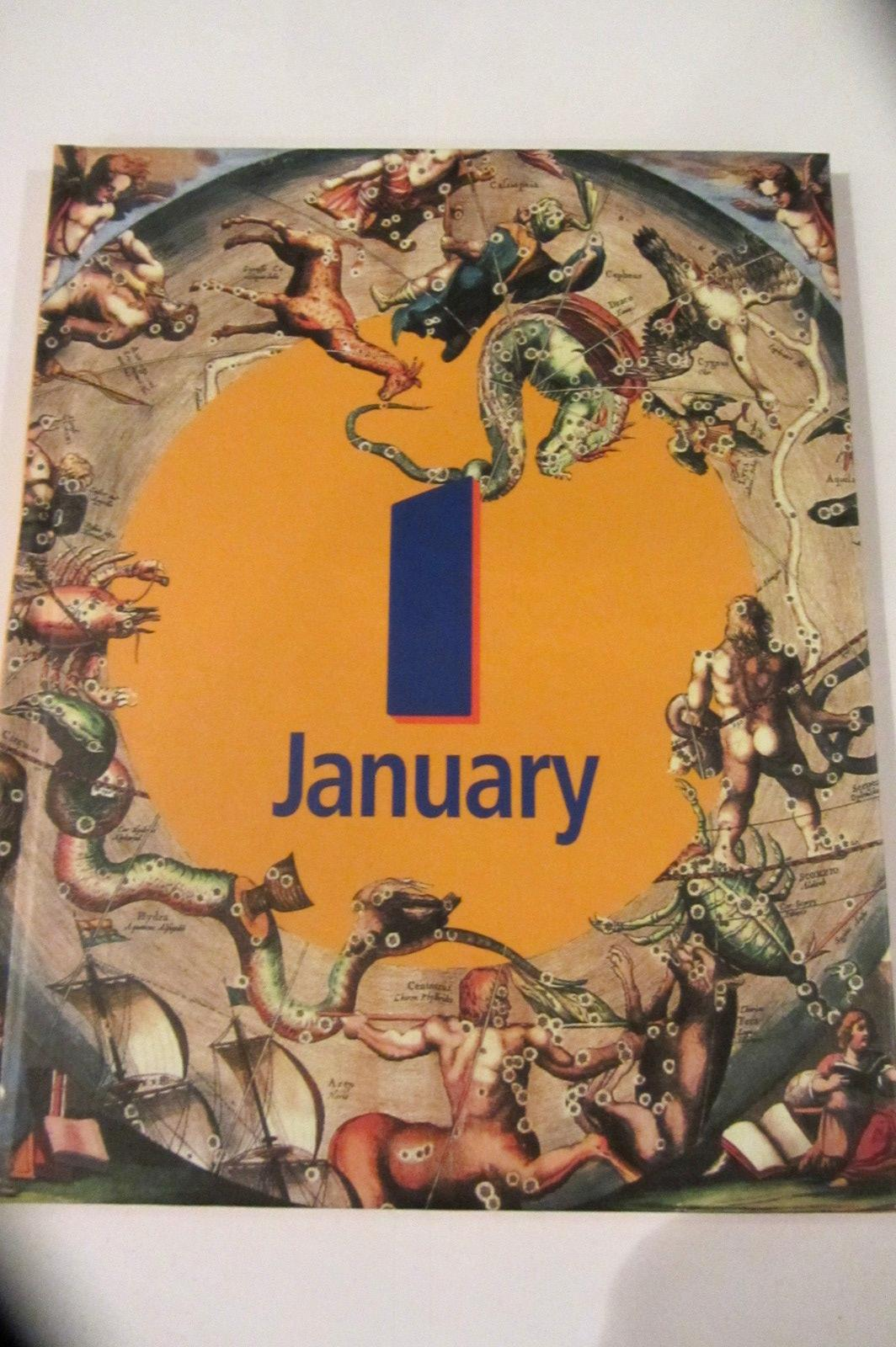January Birthday Book Any Date Present Gift Unusual 1st