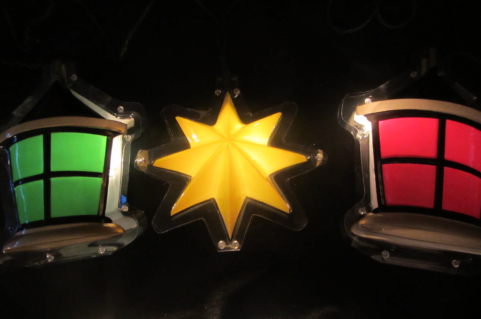Wall Clips For Christmas Lights : 45ft OUTDOOR LANTERNS OR STARS CLIP ON CHRISTMAS LIGHTS WALL PORCH NEW C189 eBay